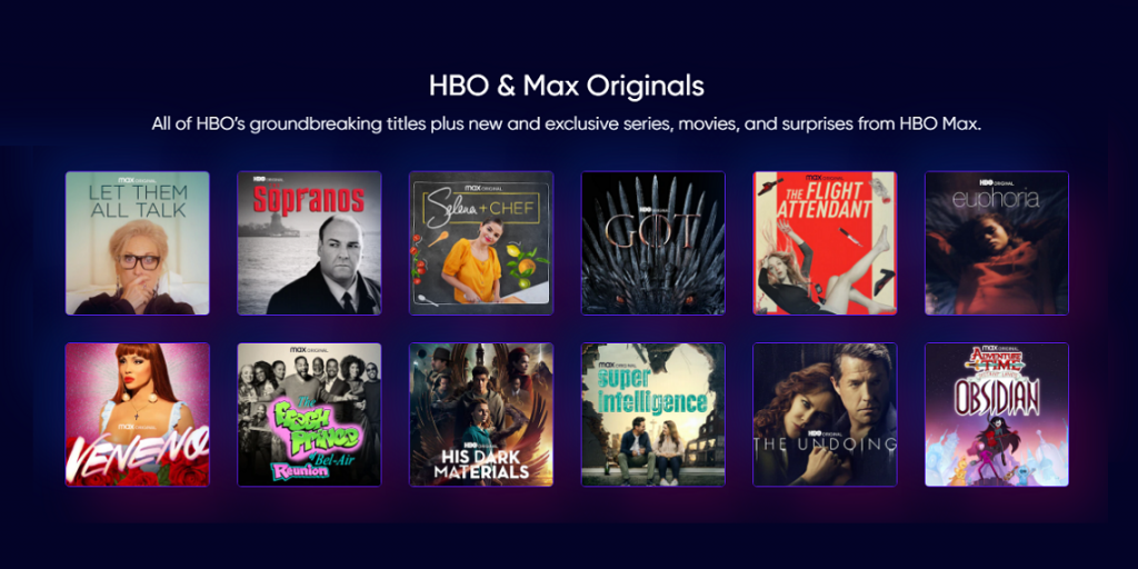 Contacter HBO Max