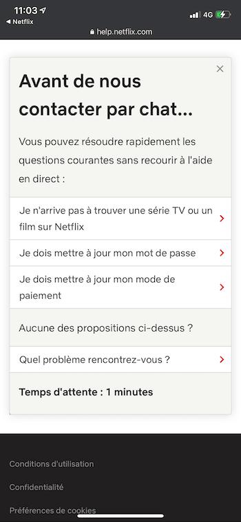 Chat Netflix
